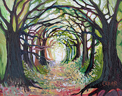 Painting - Tunnel by Cedar Lee