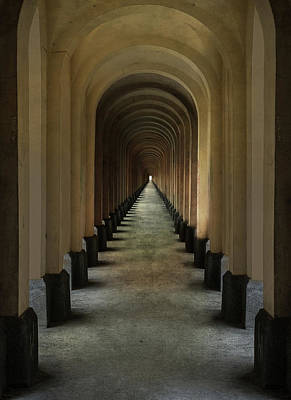 Photograph - Tunnel Of Arches by Jaroslaw Blaminsky