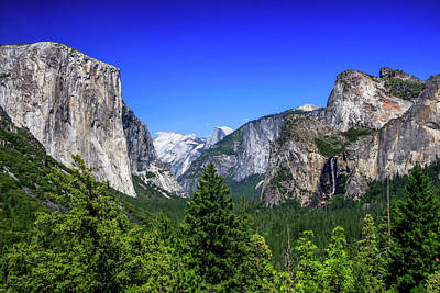 Photograph - Tunnel View Of Yosemite 2 by Dawn Richards
