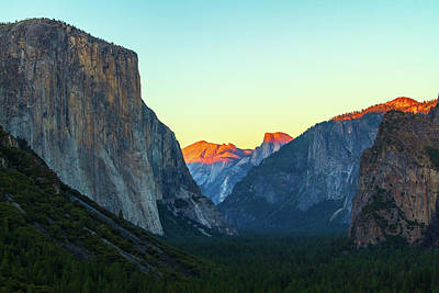 Photograph - Tunnel View by Stefan Mazzola