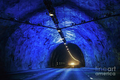 On Trend Light And Airy Royalty Free Images - Tunnel Vision Royalty-Free Image by Evelina Kremsdorf