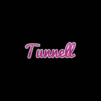 Digital Art - Tunnell #tunnell by TintoDesigns