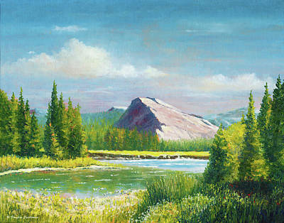 Painting - Tuolumme Meadows Spring by Douglas Castleman