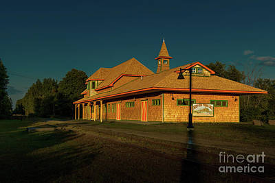 Photograph - Tupper Lake Depot by Roger Monahan