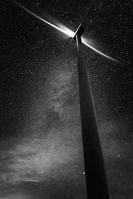 Photograph - Turbine Nights by Cat Connor