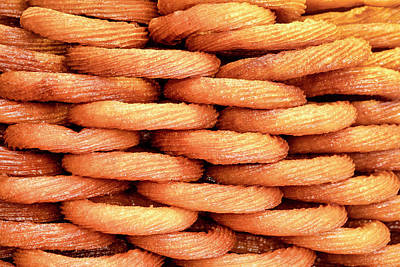 Photograph - Turkish Sweet Churros by Fabrizio Troiani