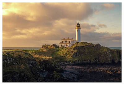 Wall Art - Photograph - Turnberry Lighthouse by Kristy Ashton