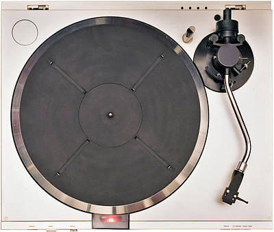 Photograph - Turntable Top by Slobo