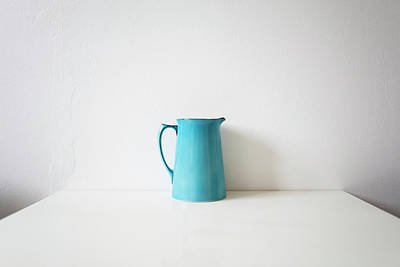 Photograph - Turquoise Jug by Mary Gaudin