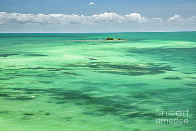 Tortuga Beach Photograph - Turquoise Water Of Florida Keys by Felix Lai