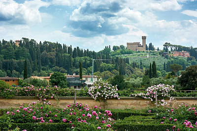 Photograph - Tuscan Landscape In Florence by Fine Art Photography Prints By Eduardo Accorinti