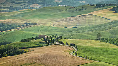 Photograph - Tuscany by Andreas Levi