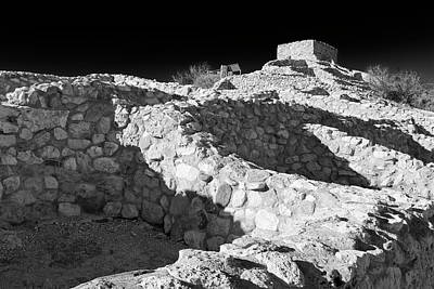 Tuzigoot National Monument Art Print by Richard Cummins