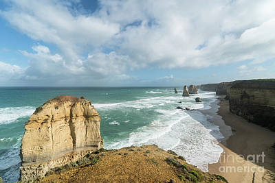 Photograph -  Twelve Apostles Sea Rocks by Didier Marti