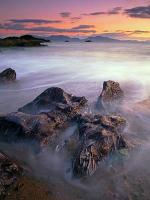 Photograph - Twilight At Llanddwyn Bay With by Eli Pascall-willis
