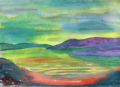 Painting - Twilight At Sea by Irina Dobrotsvet