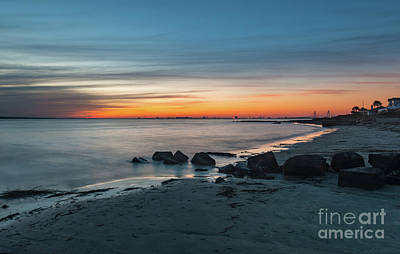 Photograph - Twilight By The Seashore by Dale Powell
