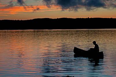 Photograph - Twilight Fishing by Paul Mangold