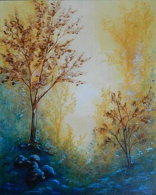 Painting - Twilight by Judy Horan