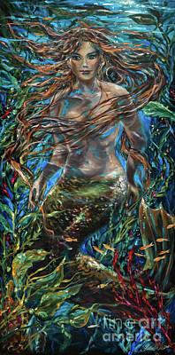 Painting - Twilight by Linda Olsen