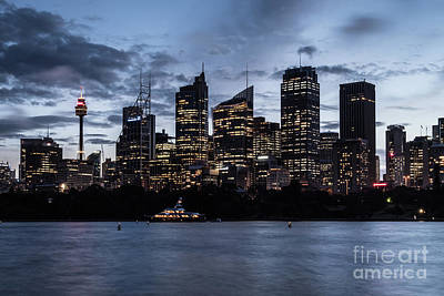 Photograph - Twilight Over Sydney by Didier Marti