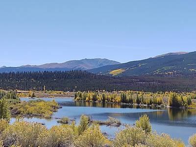 Photograph - Twin Lakes Colorado by Kathy McCabe