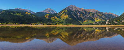 Photograph - Twin Lakes Pano by Darren White