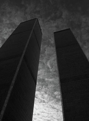Photograph - Twin Towers #2, 1999 by Chris Hunt