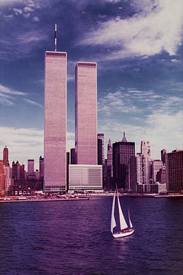 9-11 Wall Art - Photograph - Twin Towers Remembered by Laura Fasulo