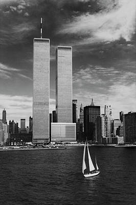 Photograph - Twin Towers Remembered - Wtc by Laura Fasulo