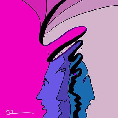 Digital Art - Twirl by Jeff Quiros
