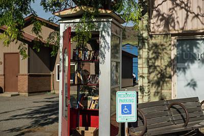 Photograph - Twisp Little Library by Tom Cochran