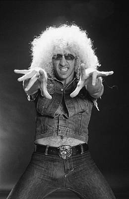 Photograph - Twisted Sister Under The Blade by Fin Costello