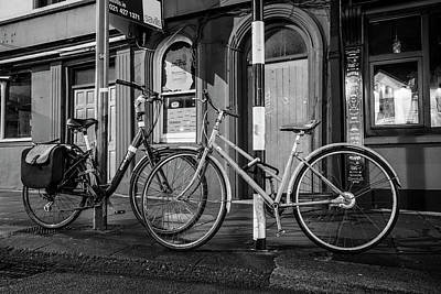 Photograph - Two Bikes Cork Ireland  by John McGraw