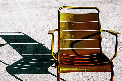 Photograph - Two Chairs by Joseph S Giacalone