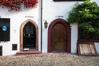 Photograph - Two Doors In Basel Switzerland by Mary Lee Dereske