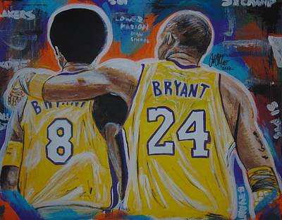 Painting - Two Kobes by Antonio Moore
