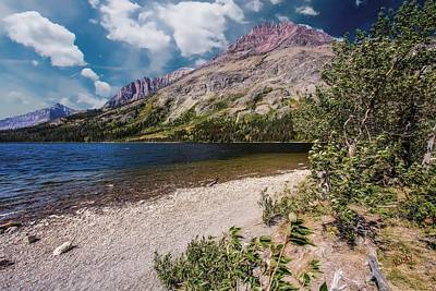 Digital Art - Two Medicine Area Of Glacier Nation Park. by Rusty R Smith