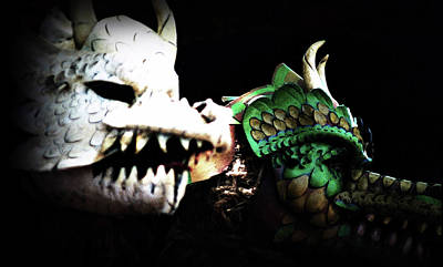 Tina Turner - Monsters Masks by Nadalyn Larsen