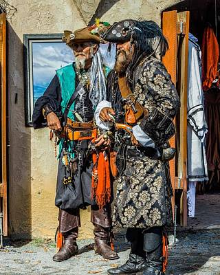 Photograph - Two Pirates by Rodney Lee Williams