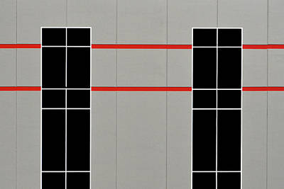 Photograph - Two Red Lines by Stuart Allen