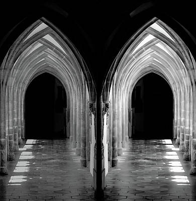 Photograph - Two Ways Into The Darkness by Michael Nguyen