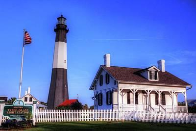 Photograph - Tybee Island Lighthouse by Carol Montoya