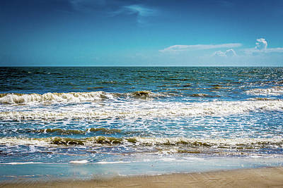 Photograph - Tybee Tides by James L Bartlett