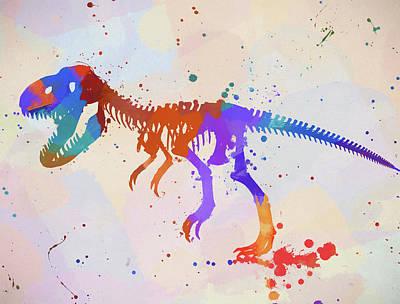 Painting - Tyrannosaurus by Dan Sproul