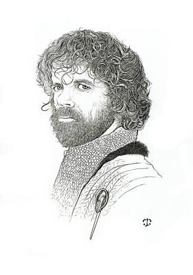 Drawing - Tyrion by Tristan R Rosenkreutz