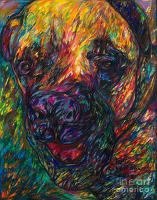 Drawing - Tyson by Jon Kittleson