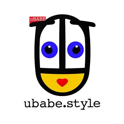 Digital Art - Ubabe De Stijl by Ubabe Style
