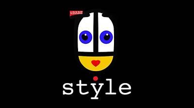 Digital Art - Ubabe Dot Style by Ubabe Style