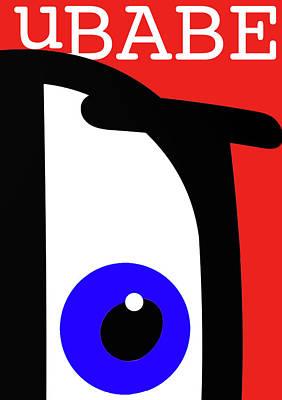 Digital Art - Ubabe French by Ubabe Style